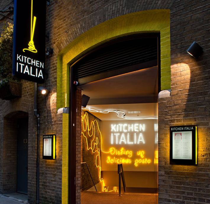 Kitchen Italia, Covent Garden 1