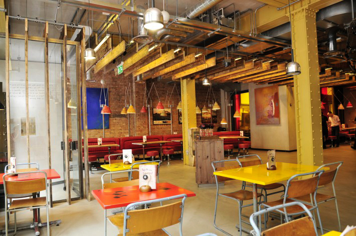 Nandos London Neuman Lighting